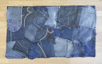 How to Make a Denim Doormat