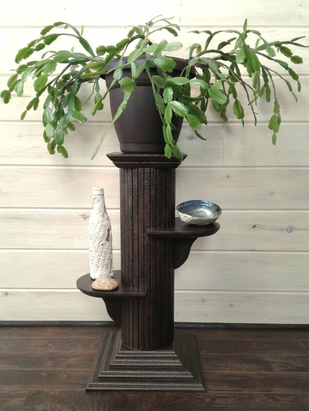 Oil Rubbed Bronze Plant Stand