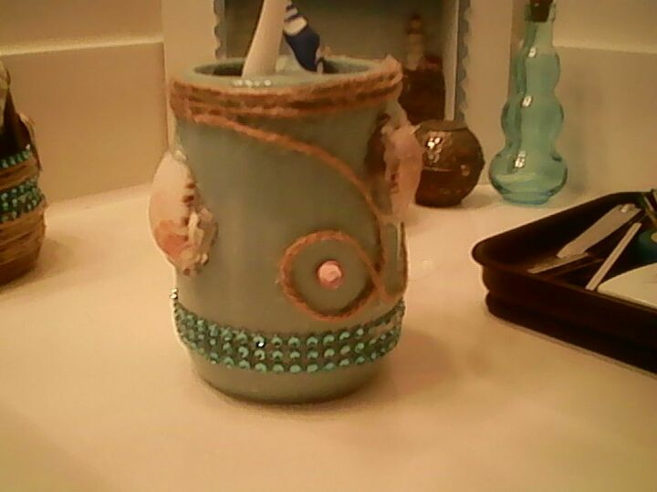 q how do i apply my shells to my soap dispenser for a cleaner look