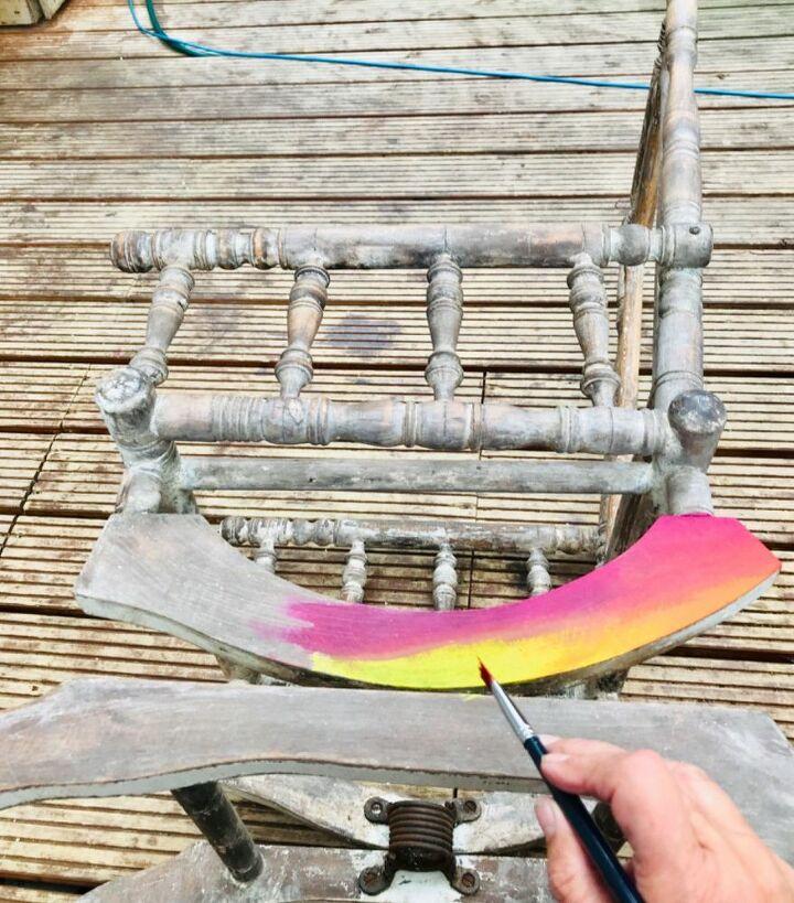 Unicorn Spit Gel & Stain on base frame