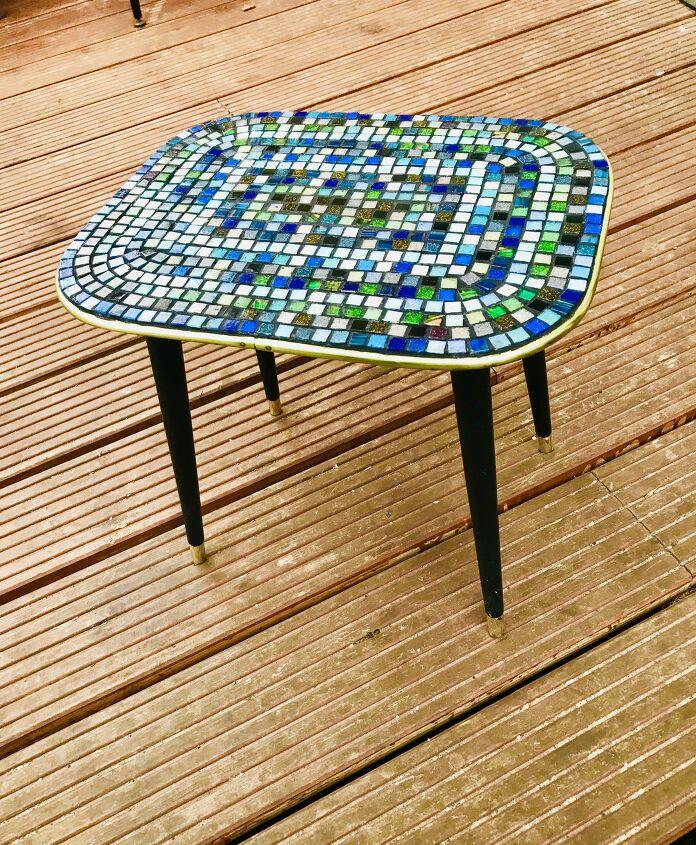 mosaic table diy
