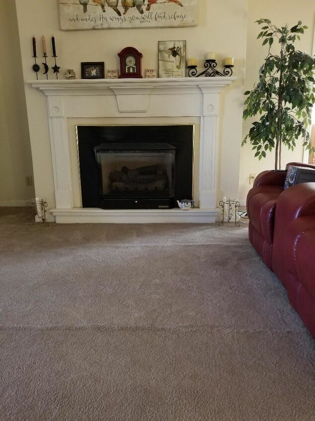 q paint or clean this ugly fireplace insert