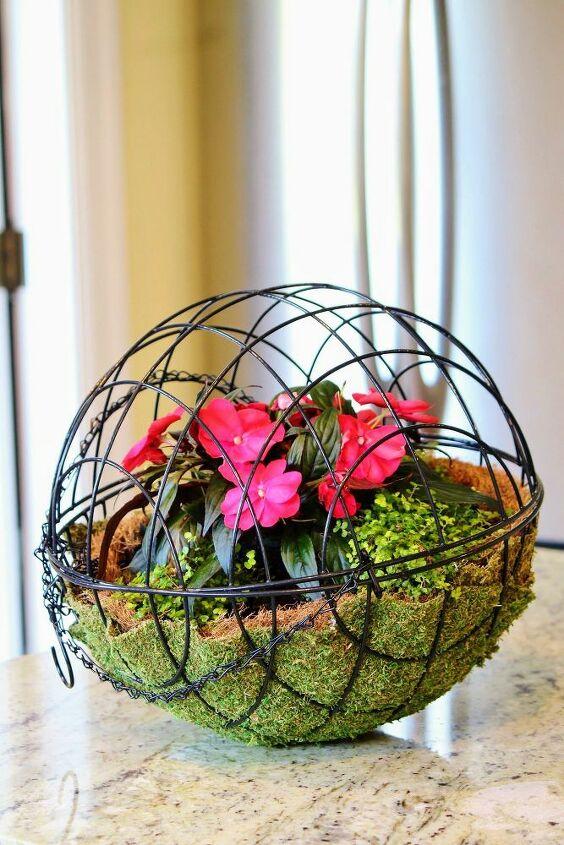 diy hanging garden sphere