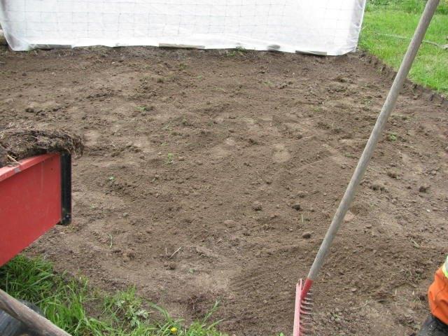 make a gravel garden path