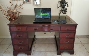 Restoration of a Leather Top Desk