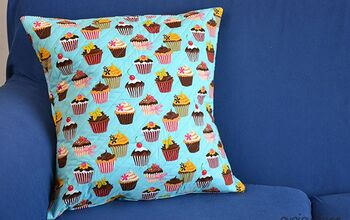 Easy Envelope Cover Pillow With NO Zipper or Button (for Beginners!)
