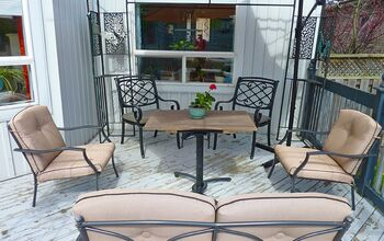 DIY Patio Table for Two