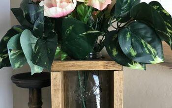 Mason Jar Rustic Vase