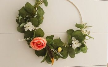 Boho Asymmetrical Wreath