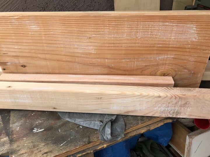 wood planter hanger