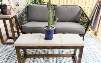 Budget-Friendly Outdoor Coffee Table Build