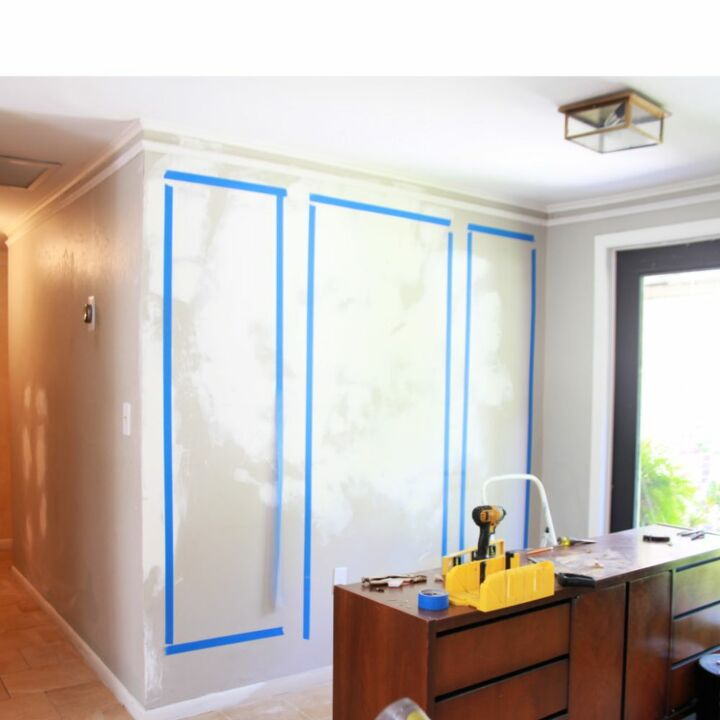 how to install picture moulding faux panel moulding
