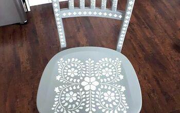 Oak Swivel Chair Makeover
