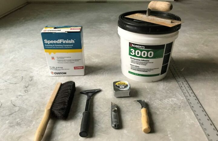 diy sheet vinyl flooring