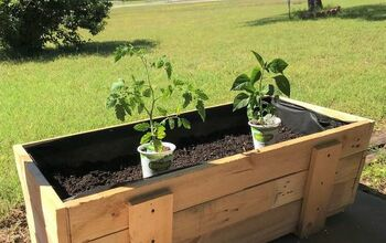 How to Build a Pallet Planter Box