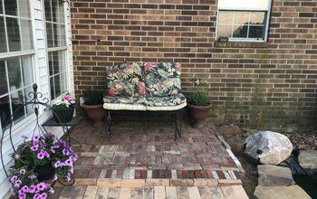 Brick Seating Area