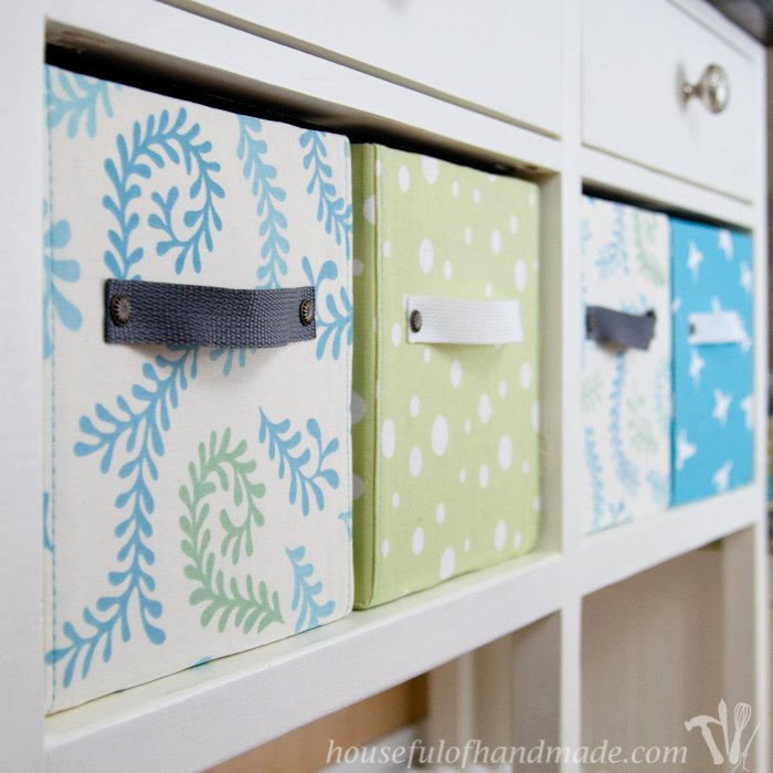 s storage solutions, DIY Covered Storage Containers
