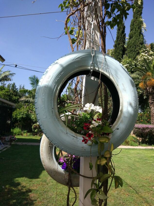 repurpose old tires