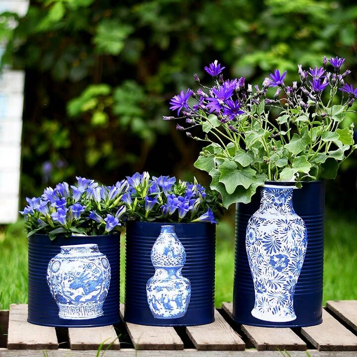 upcycled faux priceless chinese vases
