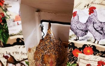 No-Sew Chicken Curtains for Hen House Nesting Boxes