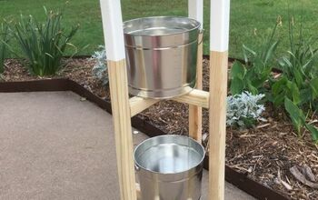Simple Plant Stand With Removable Table Top
