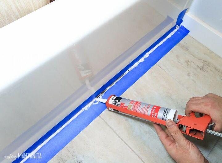 recaulk a bathtub tutorial