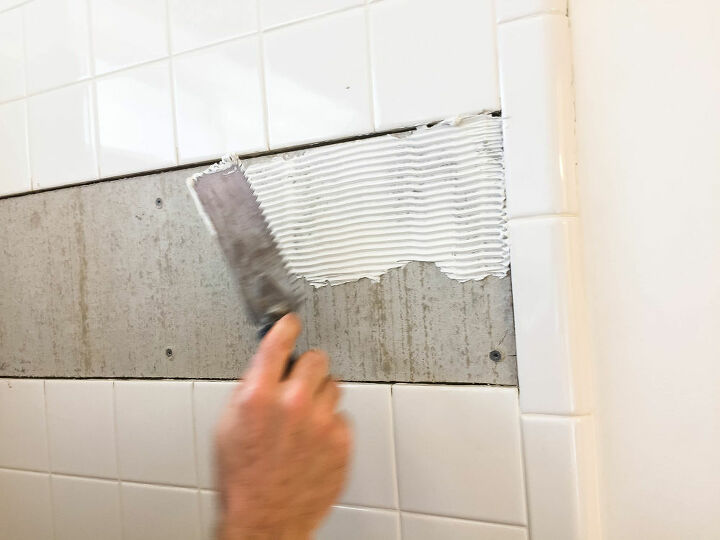 fail to fabulous bathroom tile tutorial