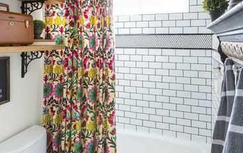 Fail to Fabulous Bathroom Tile Tutorial