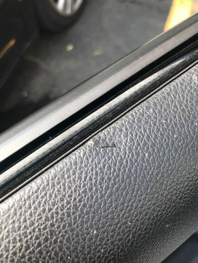 q how do i repair a small vinyl tear in my car