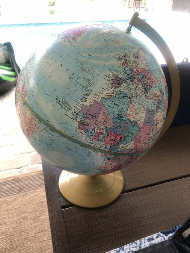 diy globe pendant light