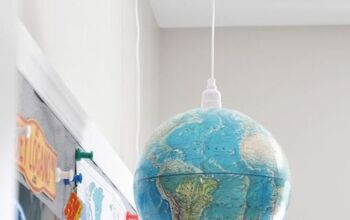 DIY Globe Pendant Light