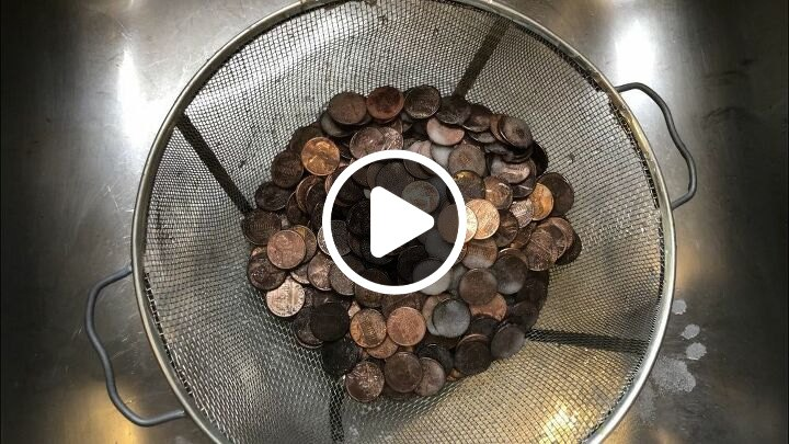 s most inspiring diy videos, Patina Pennies on Letters