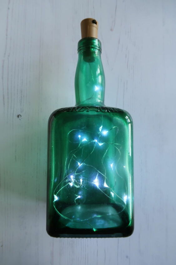 how to make a light up bottle with tinted glass