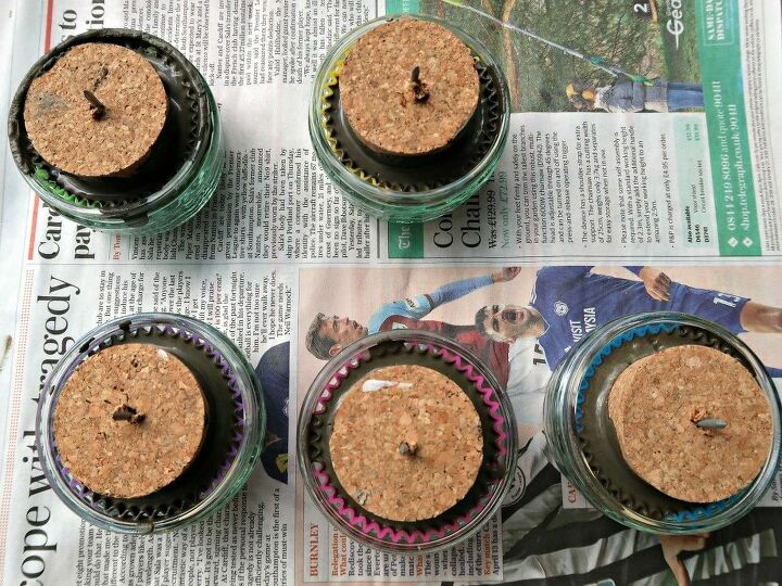 diy concrete planters cute pots shaped like cupcakes