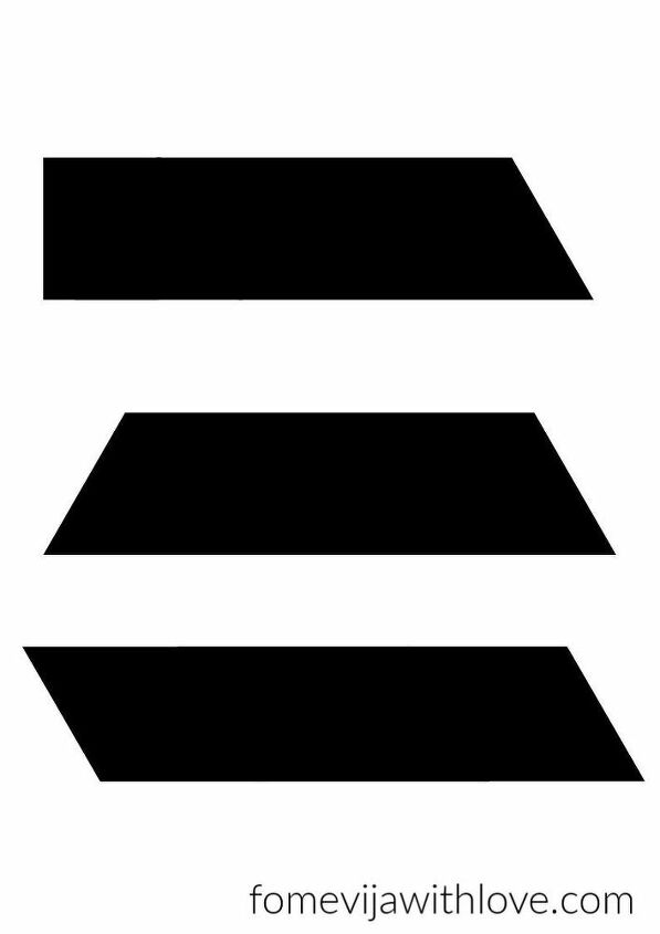 diy rustic geometric tray