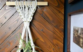 Create a Beautiful Macrame Wall Hanging/Plant Holder Using TWO Knots