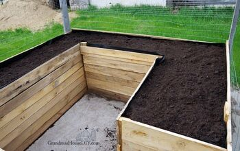 Raised Beds in My Garden – Building With Oak and Barn Wood