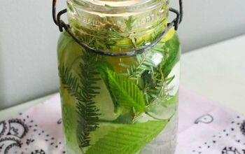 Natural Mosquito Repellent Mason Jar With Essential Oils