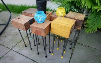 Easy DIY Modular Patio Coffee Table