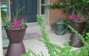 Boost Curb Appeal With These Tall Planters