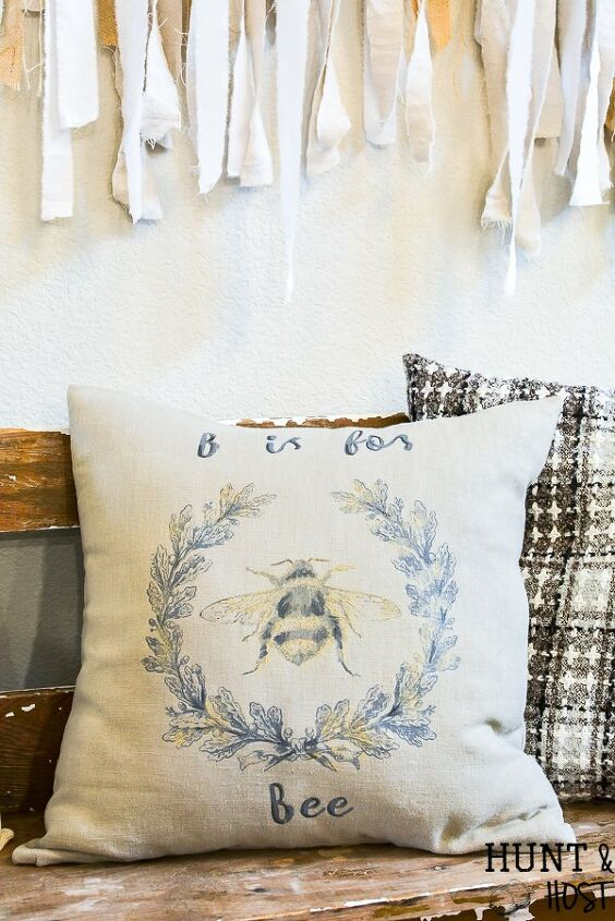 gorgeous diy pillow in minutes