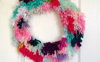 DIY Latch Hook Wreath