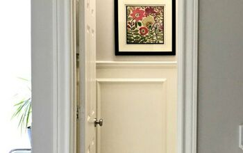 DIY Traditional Chair Rail & Picture Frame Wainscoting