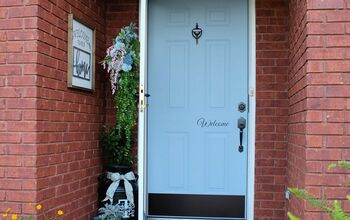 Front Door Refresh - Before & After