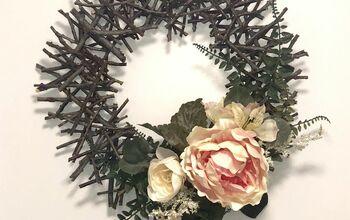 Seasonal Garden Twig Wreath