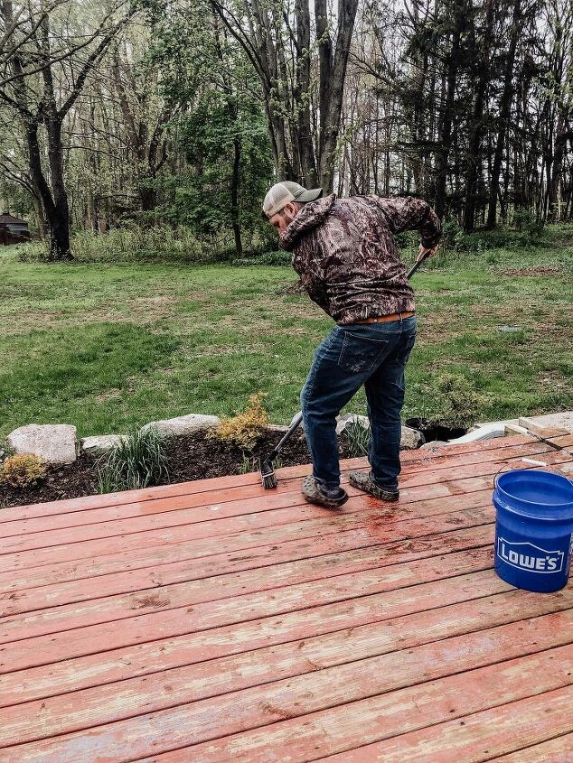 how to save an old deck