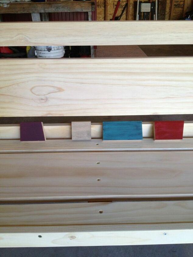 Deciding on paint colors