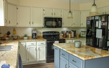 Update Your Kitchen Cabinets With Paint! Here's How...