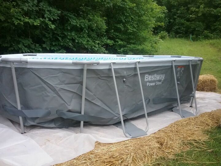 q how do you heat an above ground pool cheaply