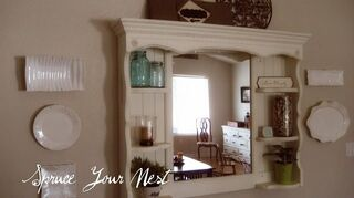 What To Do With A Detached Dresser Hutch Mirror Hometalk